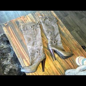Gianni Bini Knee High Leather Boot | 6 |
